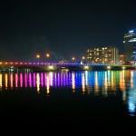 萬代橋イルミネーションを見てきました!