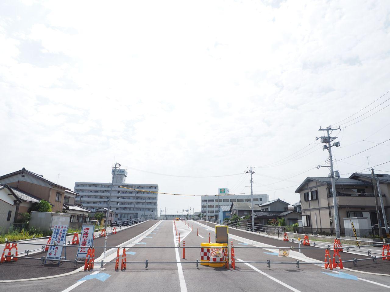 本日、新潟市中央区の網川原線が開通します 本日、新潟市中央区の網川原線が開通します | GATA