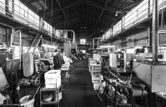 産業が観光になる 燕三条の工場が開放される4日間