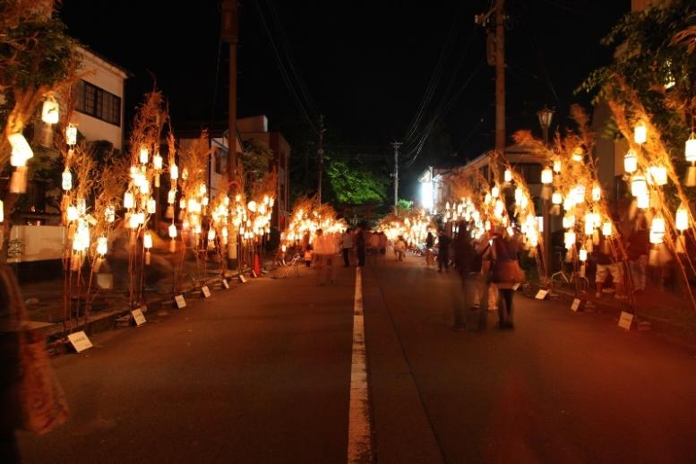 小京都を温かな光が飾る雅な夜、加茂市で「Akariba2014」が開催(9/20・21)