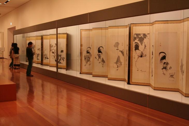 伊藤若冲と京の美術 細見コレクションの精華展示室2