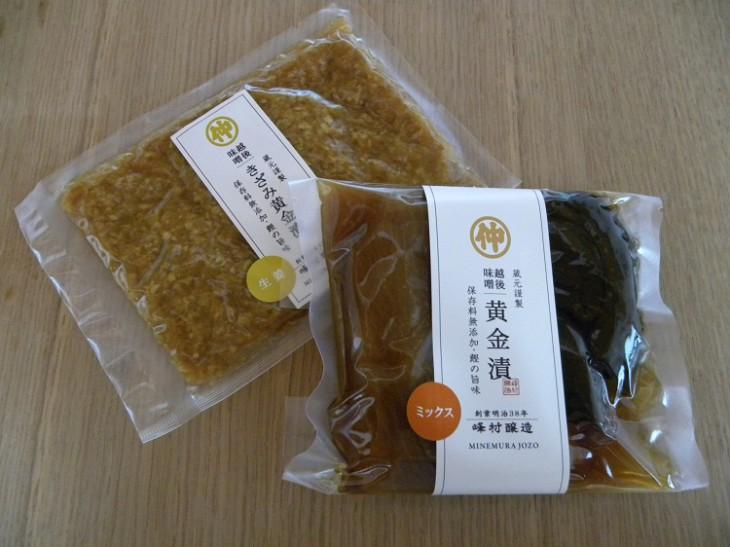峰村商店-漬け物2種