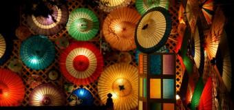 写真レポ・和のあかりに感じるぬくもりと美、加茂市「Akariba2014」 光のアートにあふれる夜を体験しました