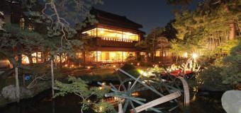 やわらかな竹灯籠の光と庭園の情緒、旧齋藤家別邸でライトアップイベントが開催(10/11~13)