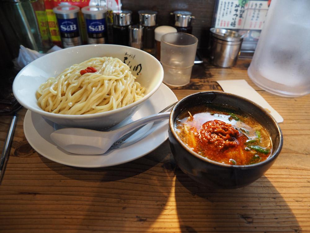 【ラーメン】旨味と辛味の旋風!ラーメン亭孔明 長潟店の台湾つけ麺食べてきた【限定】