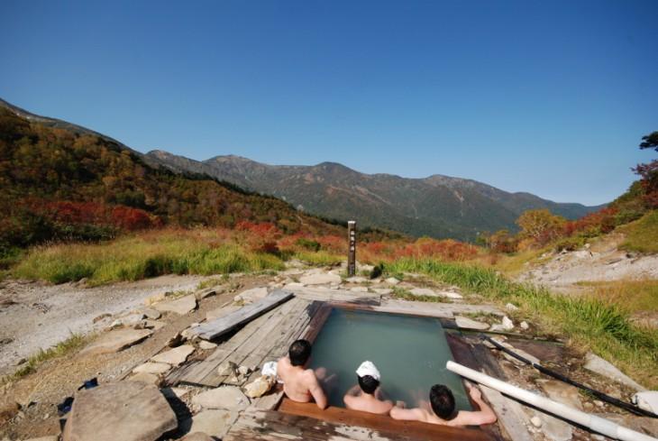 蓮華温泉の秋2