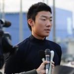 ドラフト指名直前 日本文理・飯塚悟史投手の表情