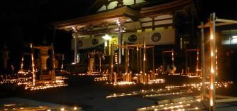 2万5千個のロウソクが照らす町並み、「越後みしま竹あかり街道2014」が10/25(土)開催
