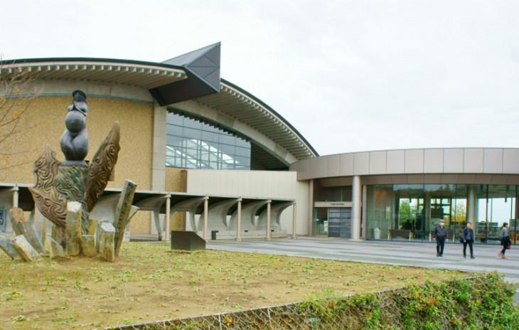 こちらが新潟県立歴史博物館です。