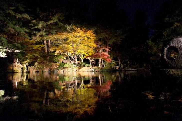 同じ場所から反対側を見た風景です。日本の美を感じますね。