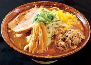 下越3位通過、新潟市秋葉区「ふじの 新津店」さんの「THE☆味噌」。※当日販売されるラーメンは、丼・盛り付けが異なります。
