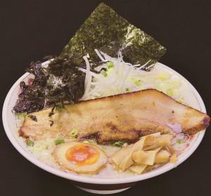 中・上越1位通過、小千谷市「麺屋ばやし」さんの「ちょっと贅沢な正油らーめん」。