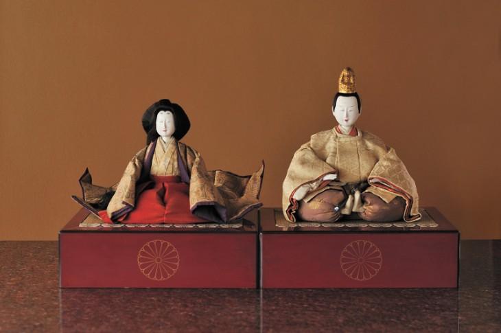 上品な雰囲気が漂う、江戸のひな人形の数々は見ごたえあり。 写真提供:旧齋藤家別邸