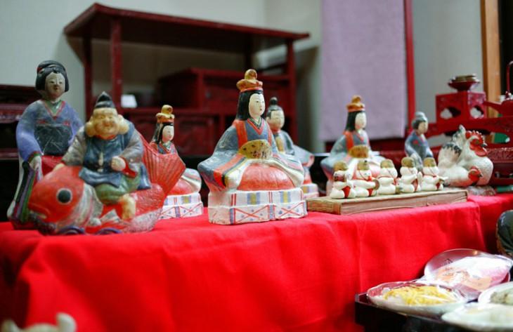 個性的なひな人形も多く、見ごたえがあります(タイトル写真を含め、写真は過去に行われたイベントのイメージです)。