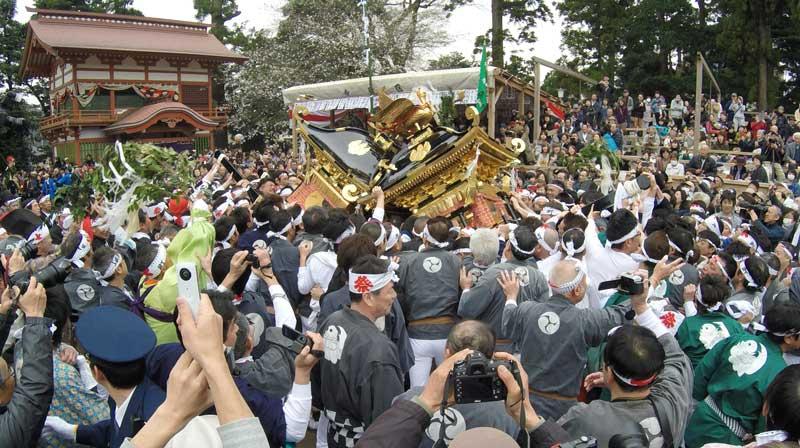 〔糸魚川シリーズ④〕天津神社春大祭「糸魚川けんか祭り・天津神社舞楽」を見てきました!