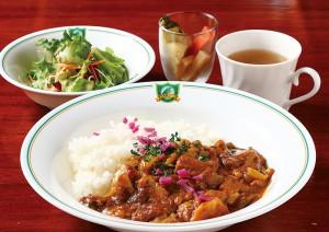 トロトロ煮豚入りカレーライス972円にも注目を。