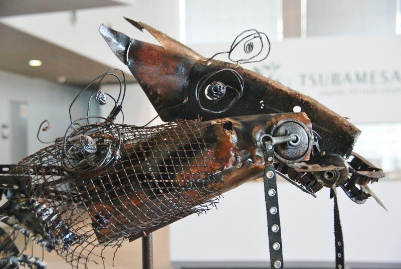工場の芸術祭、今年も ブランキングアート展