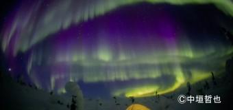 オーロラが地球の調和を教えてくれる。映像&トークイベントが行われました