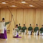 彌彦神社の新年の神事 おや、あれは?