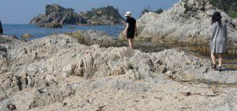海水浴シーズンの前に、ひとあし早く海を満喫