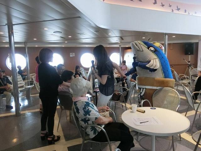 【心はいつも佐渡ンリー】VOL.82 ブリカツくんに船上で会える夏!