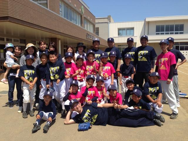 【BBガールズ通信 番外編】上越の小学校でみつけた、いいチーム