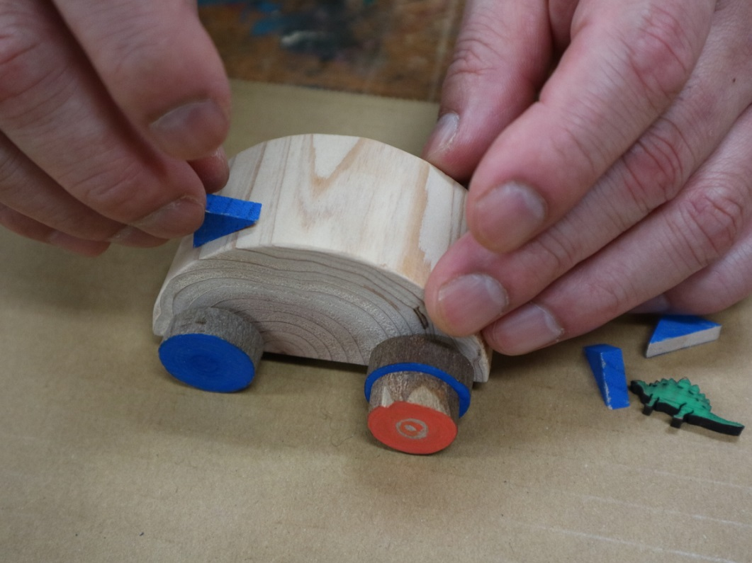 キットで楽々、自由にアレンジ! 新潟県産木材で作るオリジナル木工品